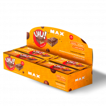 UAU Protein Bar (12unid-45g) Max Titanium-Chocolate Crocante - 50% OFF
