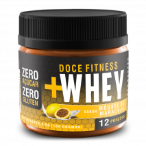 Doce Fitness + Whey Mousse de Maracuja (180g) Tokest