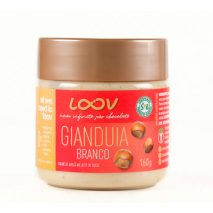 Creme de Gianduia Loov Branco (160g) Chocolife