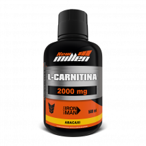 L- Carnitina 2000 (500ml) New Millen-Abacaxi - 50% OFF