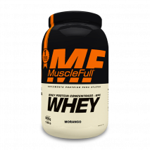 Whey 100% Concentrado (900g) MuscleFull