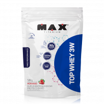 Top Whey 3W Mais Performance Refil (1800g) Max Titanium