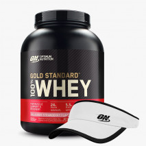 100% Whey Protein (5lb/2270g) Optimum Nutrition + Viseira ON Grátis