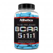 BCAA Time Release 5:1:1 (120tabs) Atlhetica Nutrition